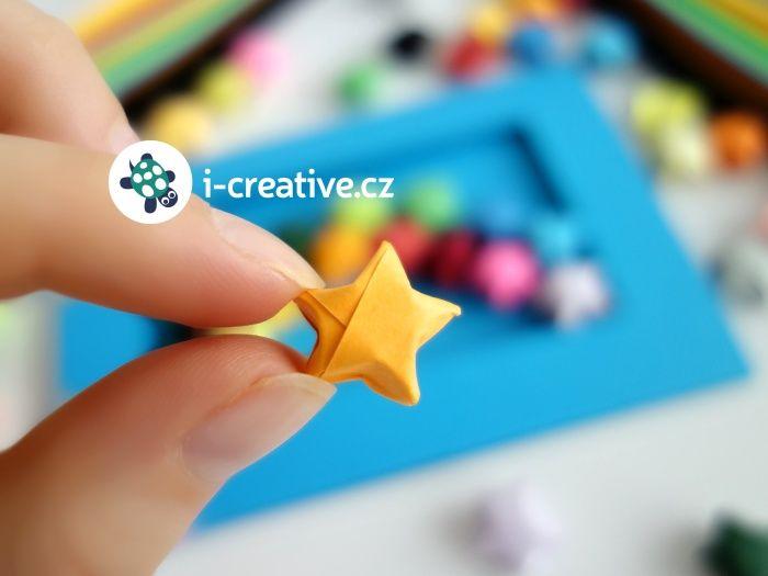 Video návod jak složit origami hvězdičku Lucky Stars: http://www.i-creative.cz/2016/01/05/navod-na-mini-origami-hvezdicky/