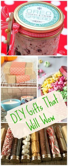 16 DIY Christmas Gifts With The WOW Factor