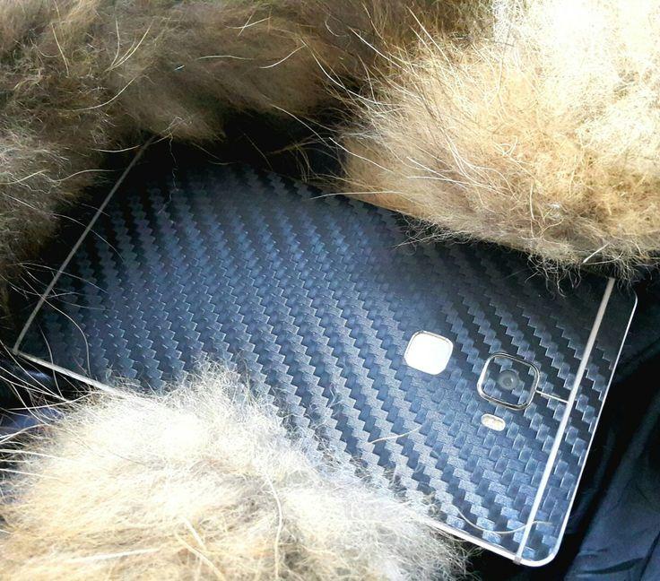 Folii Carbon 3M Black Huawei Mate S