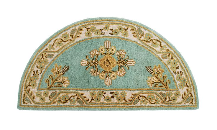 Jardin Wool Hearth Rug to protect from sparks and embers from your fireplace
