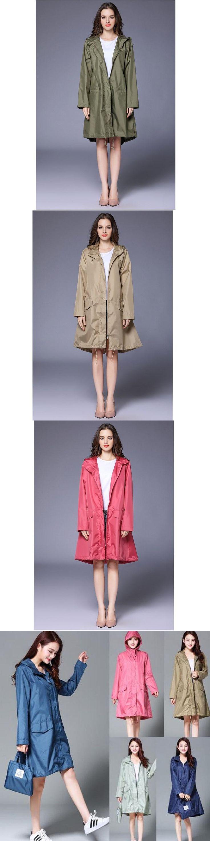 WINSTBROK Raincoat Women 2017 Fashion Ladies Rain Coat Breathable Ladies Long Raincoats Portable Water-Repellent Raincoat Women