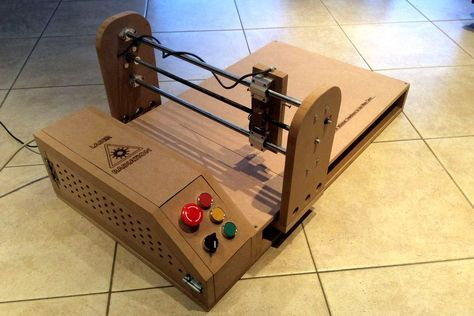 There are approximately a zillion DIY laser engraver tutorials on the Web, but of all the homemade builds we've come across, this one from Instructables user MichielD99 is definitely one of the best.