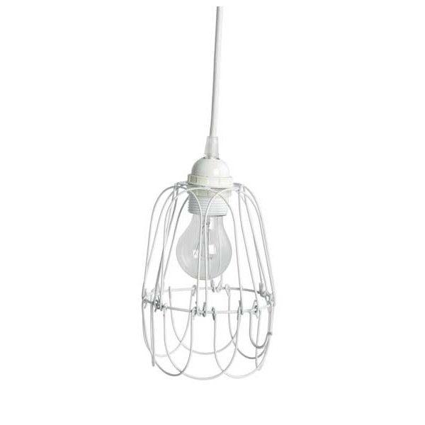 Hanglampje Wire wit (House Doctor)