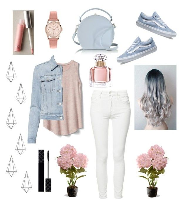 """""""Day with my Family"""" by jo-sy ❤ liked on Polyvore featuring Gap, J Brand, Mother, Vans, Bertoni, FACE Stockholm, Henry London, National Tree Company, Umbra and Guerlain"""
