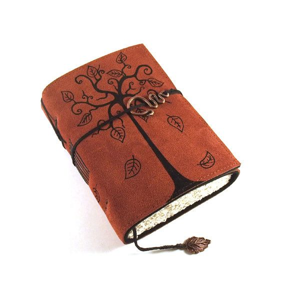 Love the leather work on this, i think i would strart my diary in notebook like that!