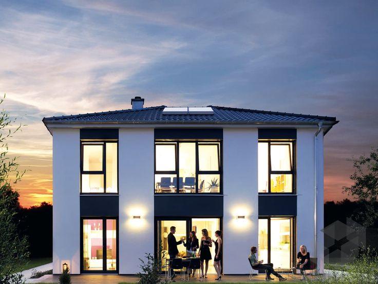 Purer Luxus! Die Stadtvilla 165 Von Hanse Haus Hat Eine Wohnfläche