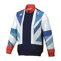 adidas Team GB Replica Presentation Suit - White / Flag Graphic / Dk Indigo | Cheeky Wish List | Wedding and Birthday Gift Ideas for Men and Women