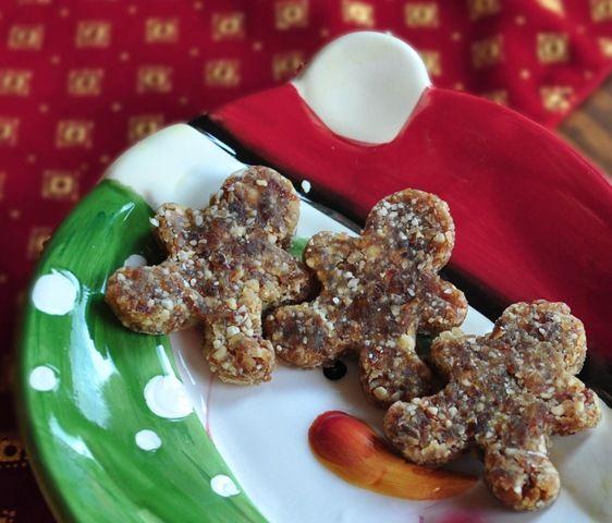 126 best vegan raw holiday dishes images on pinterest vegan food vegan raw gingerbread men forumfinder Choice Image