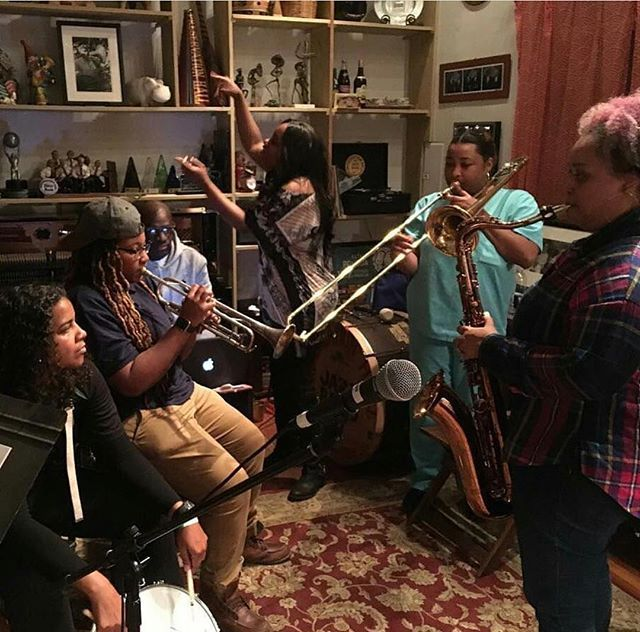 Catch Mia X (@themamamiax) with the Pinettes Brass Band (@originalpinettes) and members of the Preservation Hall Jazz Band (@preshallband) this Saturday, November 26, 2016 at Midnight. Tickets at preservationhall.com/tickets. #MiaX