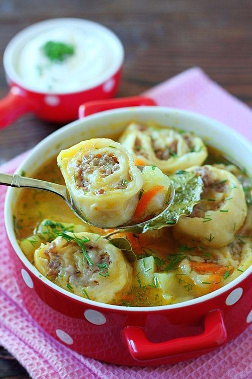 Картофельный суп с ленивыми пельменями 8/50: elena_fialka