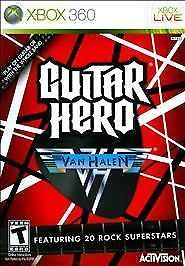 Guitar Hero: Van Halen Xbox 360, 47 Songs, Classic, Band Rock, Brand New, Sealed #GuitarHero #Microsoft #Activision #VanHalen #Xbox #Xbox360 #eBay #RacingWorks