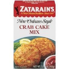 Zatarain's Seafood Cake Mixes, Crab Cake Mix (12x12-5.75 Oz)