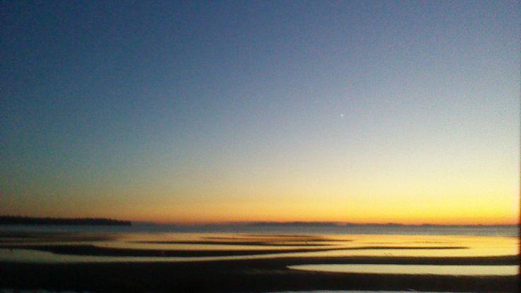 Sunset at Birch Bay WA by NyxStudioArt