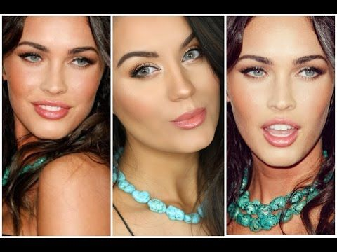 ▶ Bronzed & Glowing Natural Glam MEGAN FOX Inspired Makeup Tutorial ♡ MakeupByGio - YouTube