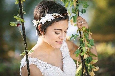 Sposa con capelli corti - Fotogallery Donnaclick