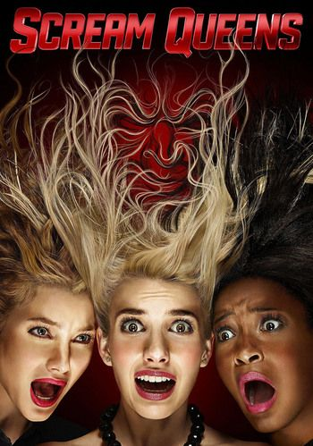 Scream Queens! Like watching scary movie, very unreal, but good!🔪