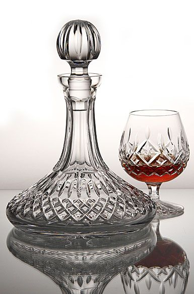 Waterford Lismore Ships Decanter  Wishful thinking....:)