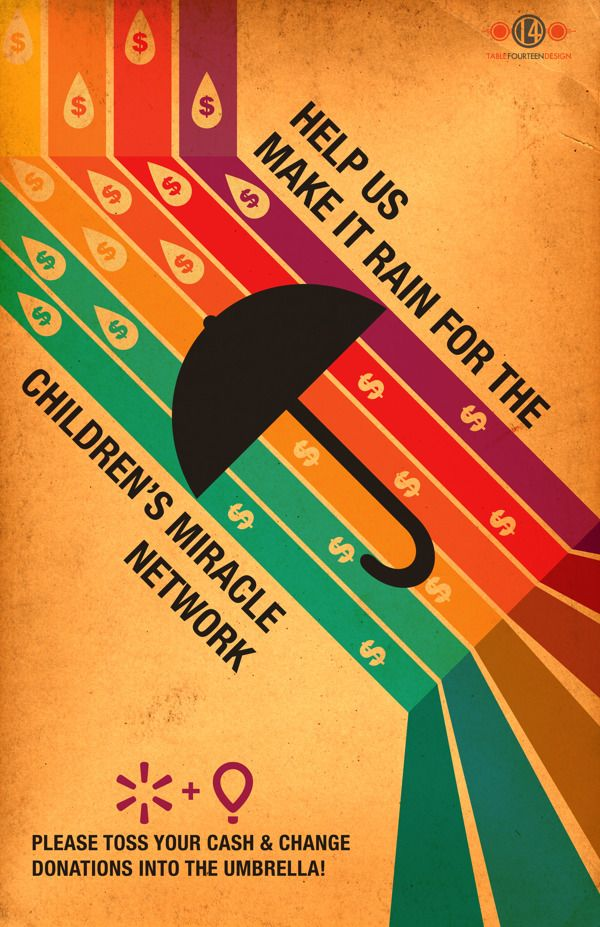Children's Miracle Network Poster 2013 by Shawn Swope, via ...
