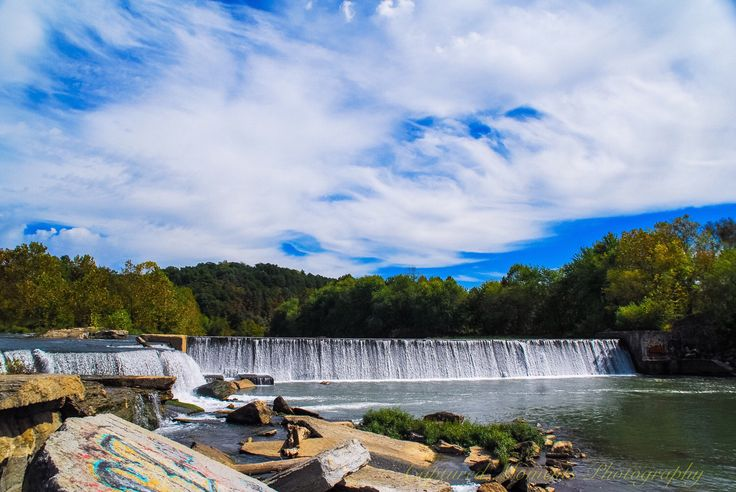 A personal favorite from my Etsy shop https://www.etsy.com/listing/494614678/illinois-river-in-oklahoma-waterfall