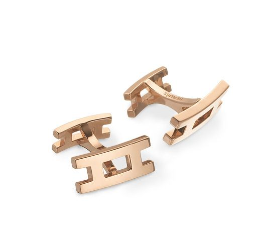 Parallèle Cufflinks in pink gold | Timeless luxury jewellery for men | perfect anniversary gift