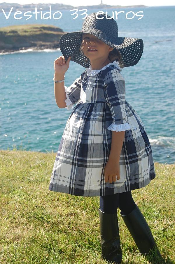 Vestido de cuadros disponible en www.donbabero.com ; ) ¡Lo mejor para los peques de la casa!