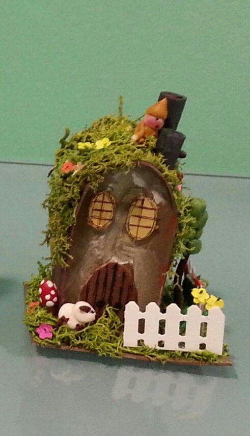 Casita del bosque por in s moreno miniaturines - Casitas del bosque ...