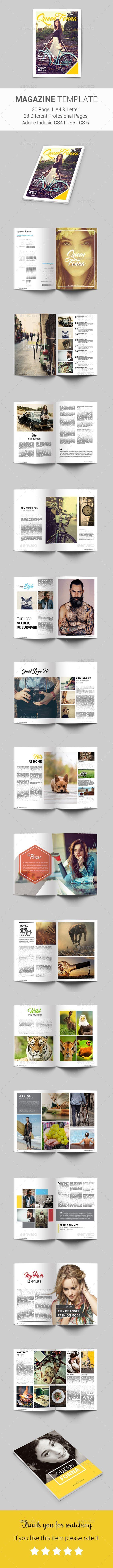 Multipurpose Magazine — InDesign INDD #hipster magazine #minimilist indesign template • Download ➝ https://graphicriver.net/item/multipurpose-magazine/19014303?ref=pxcr: