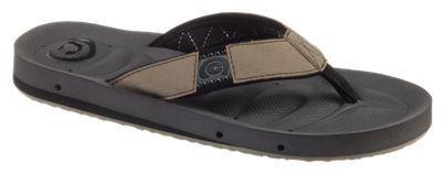 Cobian Draino Sandals for Men - Chocolate & Cement - 10M