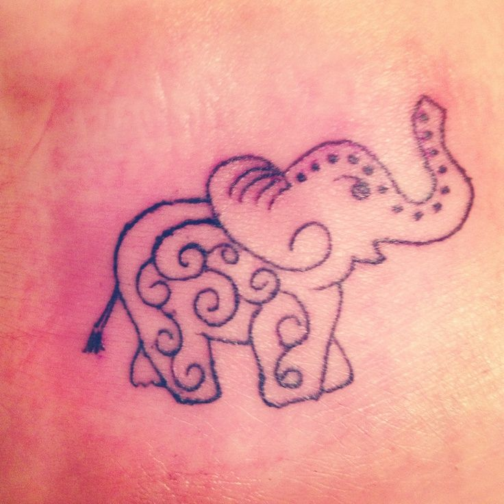 24 best elephant tattoo on foot images on pinterest for Elephant foot tattoo