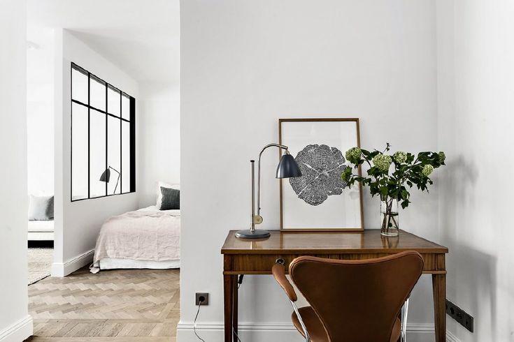 Skapa rum i rummet med industriglas - 34 kvadrat - Metro Mode