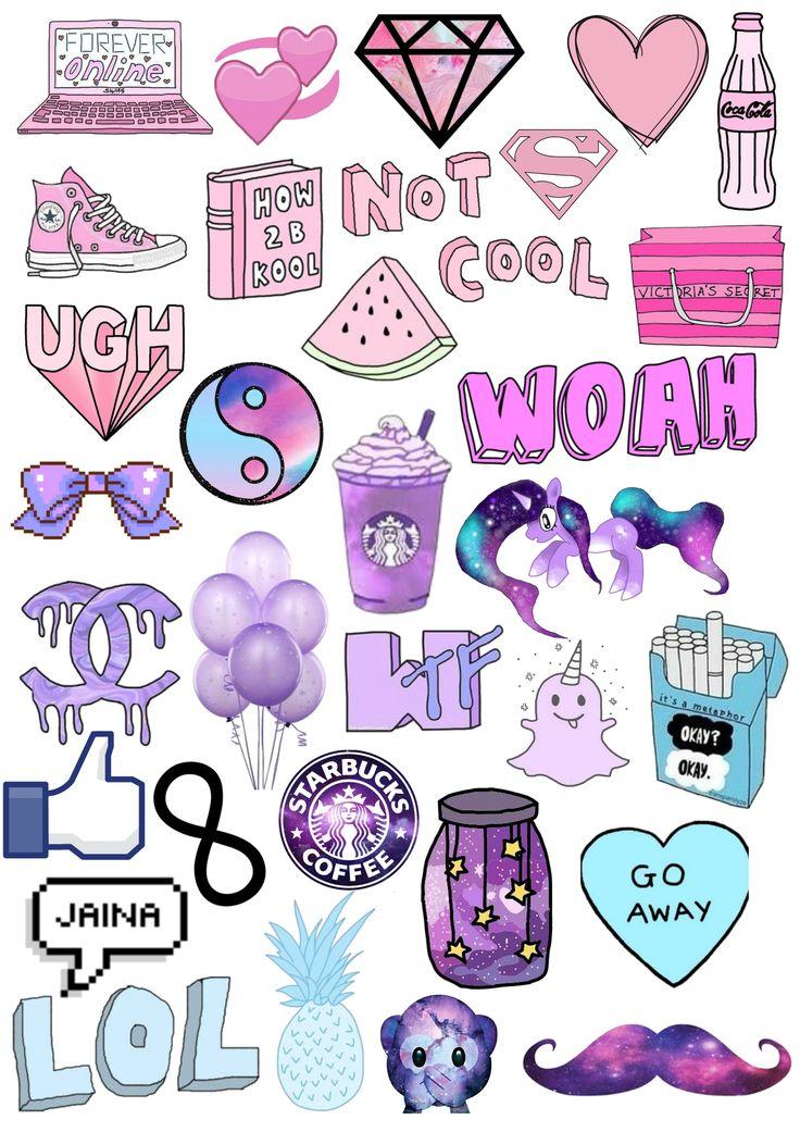 Tumblr collage | Aesthetics in 2019 | Aesthetic stickers ...
