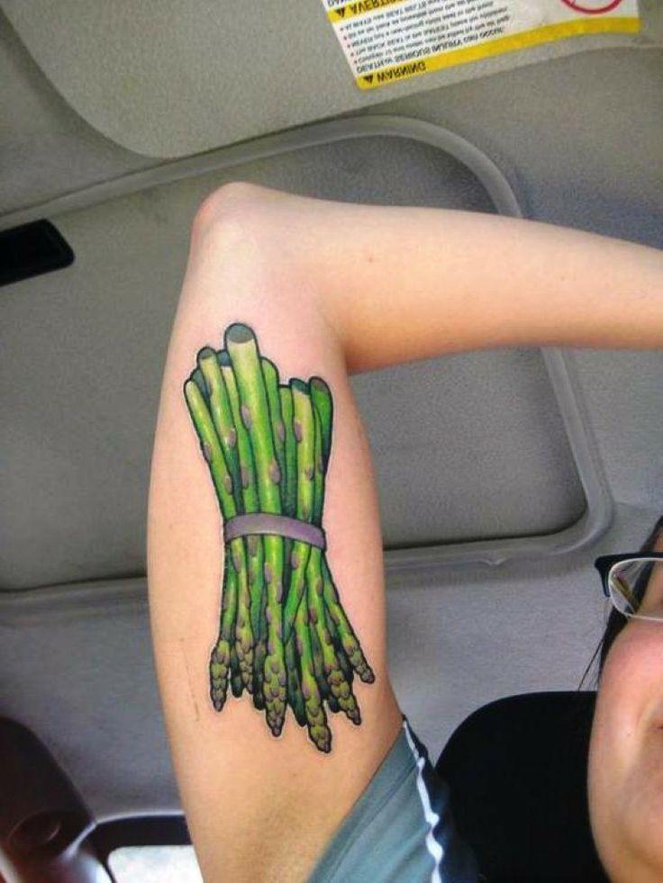 vegetable tattoo art - Google Search