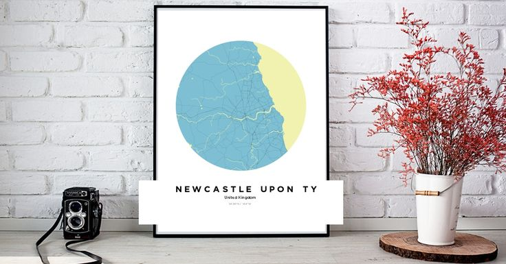 Newcastle uponTyne | Custom Map Maker – Make Your Own Map Poster Online - YourOwnMaps