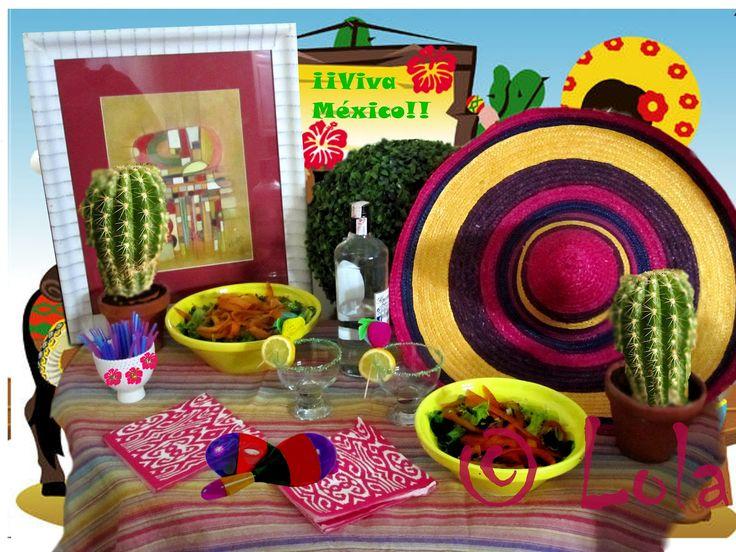 17 best images about mesas mexicanas para fiestas on - Mesas decoradas para fiestas ...