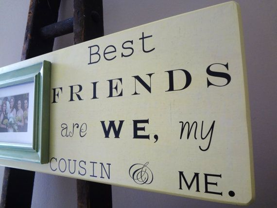 personalized wedding frame cousin best by dellalucilledesigns 5700