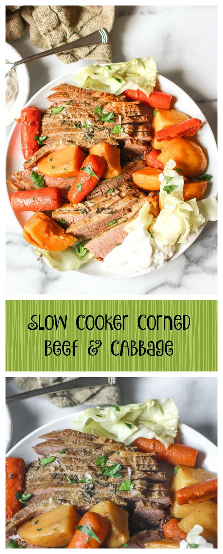 Slow Cooker Corned Beef And Cabbage. This recipe is simple