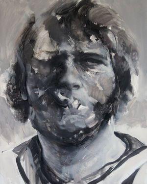"""Saatchi Art Artist Daniel Martin; Painting, """"Prisoner II"""" #art"""