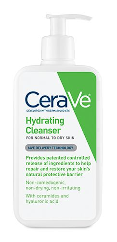 Cera Ve Hydrating Cleanser. Excellent for individuals with dry, sensitive skin - you can cleanse without dryness or irritation.