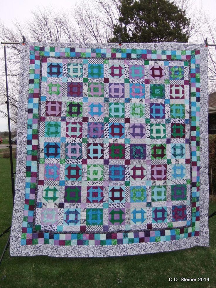 146 best Churn Dash quilts images on Pinterest | Churn dash quilt ... : churn dash quilt block pattern - Adamdwight.com
