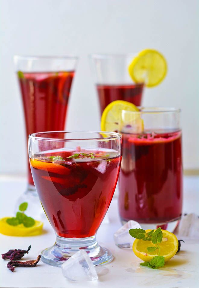 A very Refreshing and delicious cooler made with Dried Hibiscus flowers Hibiscus or Gudhal ka phool is very easily available in India.It have many health benefits but not used much in day to day life.This gudhal ka sharbat/hibiscus tea is a very simple and healthy way to use dried hibiscus flowers and get the benfits...Read More »