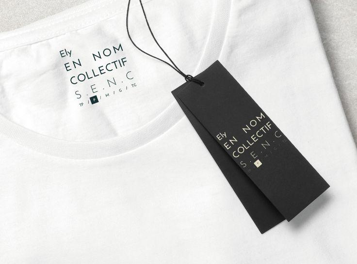 EN NOM COLLECTIF S.E.N.C on Behance #branding #design #graphicdesign #logo #mtl #tag #clothes #doncarlomtl #yoga