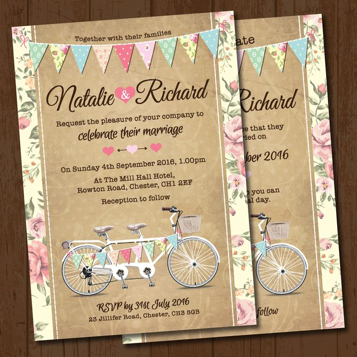 24 best Wedding Invitations images on Pinterest | Wedding save the ...