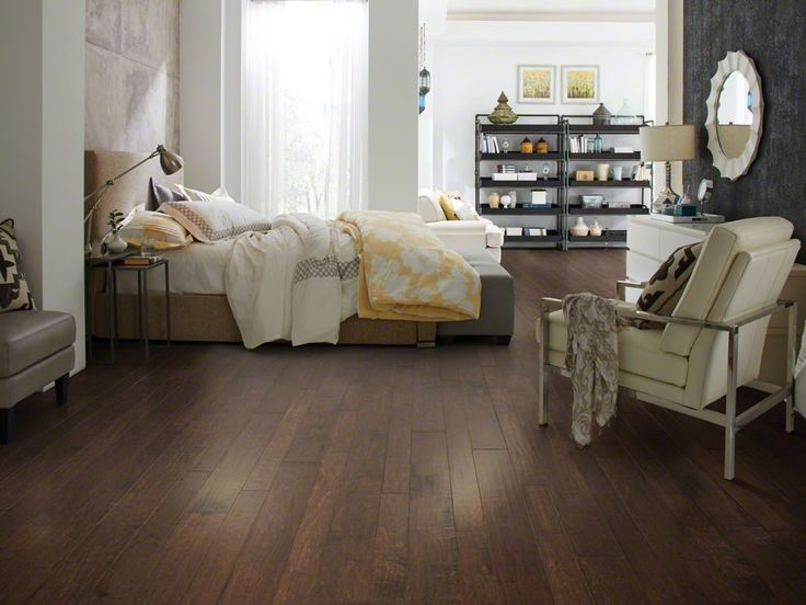 bring a vintage variation of antique floors to your home with this shaw pointe maple bridge engineered hardwood flooring