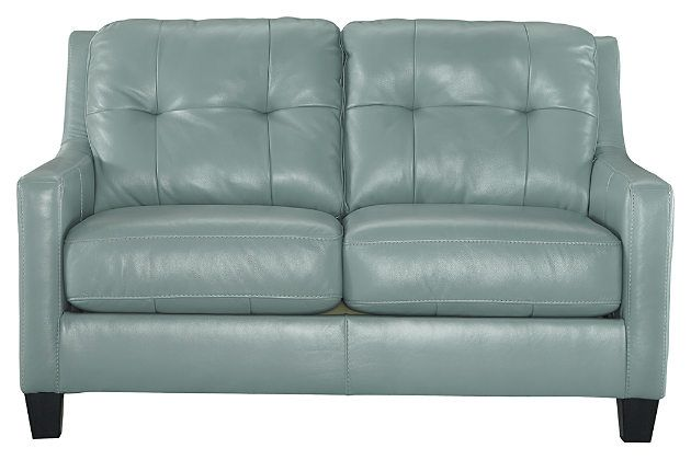Sky O'Kean leather Loveseat    View 2   $787on sale