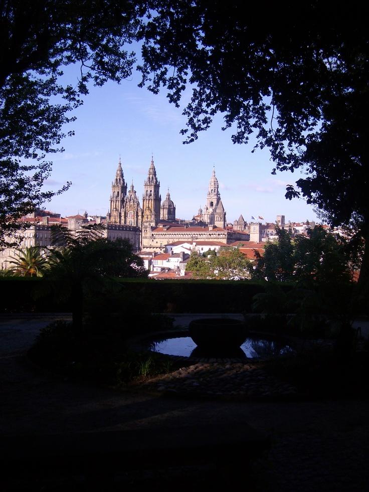 Pedrouzo a  Santiago  de Compostela