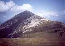 """Croagh Patrick (Irish: Cruach Phádraig, meaning """"SaintPatrick's Mountain""""] nicknamed the Reek,[2] is a an important site of pilgrimage in County Mayo in Ireland.  Long before Christianity, the mountain was an important spiritual site."""
