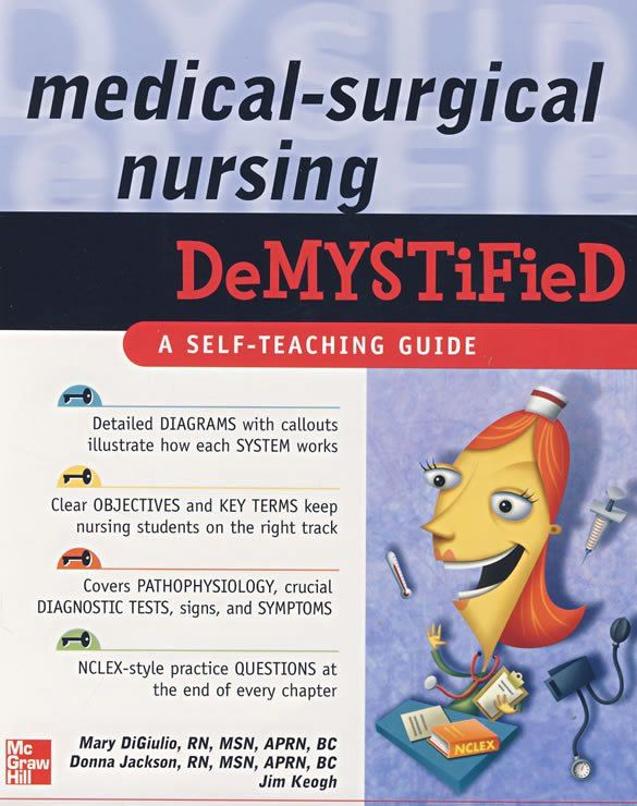 81 best nursing made incredibly easy images on pinterest medical surgical nursing demystified demystified nursing a book by mary digiulio james keogh fandeluxe Images