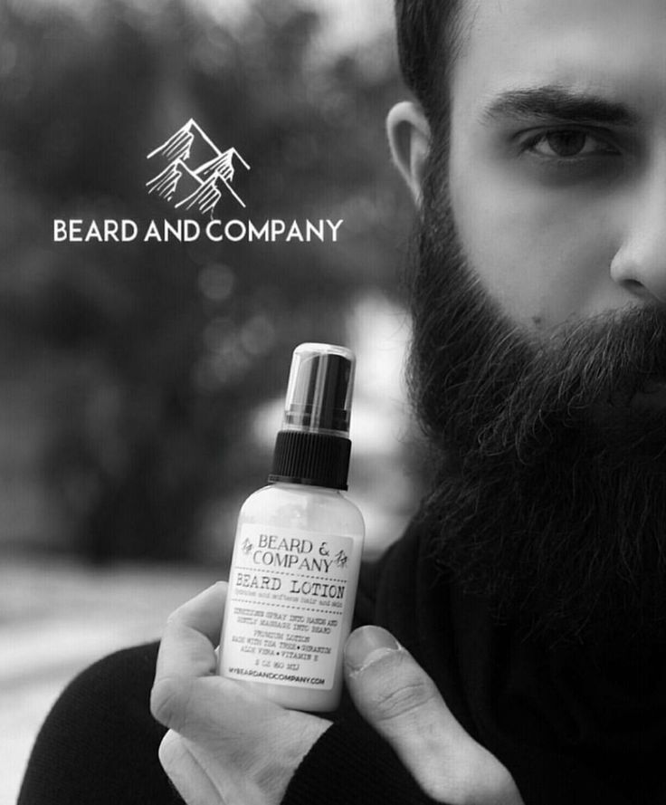 Get a soft, healthy beard by using natural beard lotion. No more dry, flaky skin!