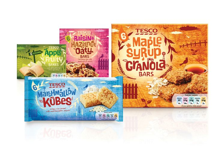 Tesco Cereal Bars