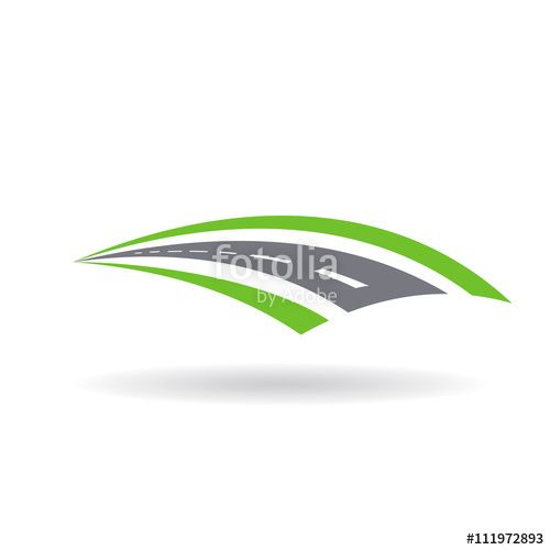 """""""Road Pavement and swales logo. Illustration graphic design"""" Stock image and royalty-free vector files on Fotolia.com - Pic 111972893"""